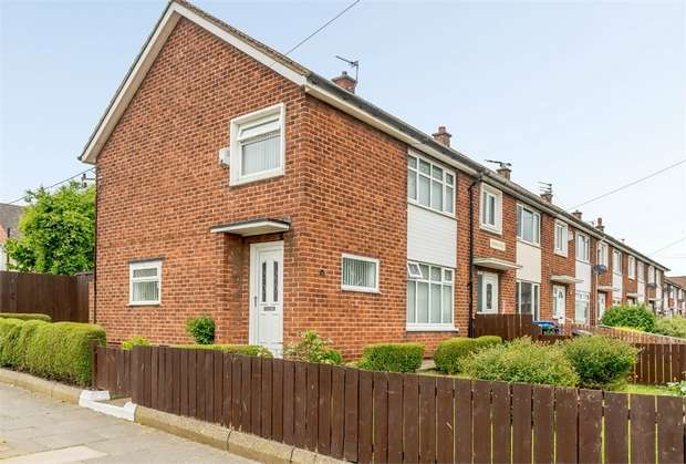 3 Bedrooms End Of Terrace House for sale in Gribdale Road, Middlesbrough, North Yorkshire