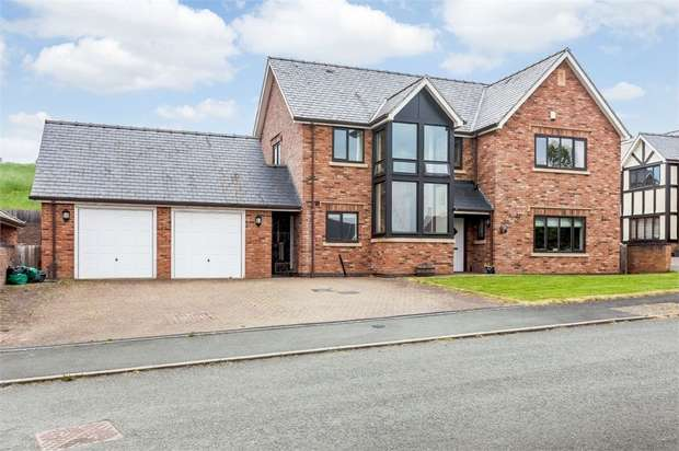 5 Bedrooms Detached House for sale in Parc Bronhyddon, Llansantffraid, Powys