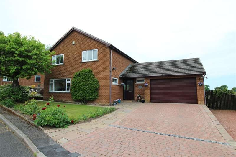 4 Bedrooms Detached House for sale in CA5 6PU Evening Hill, Thursby, Carlisle, Cumbria