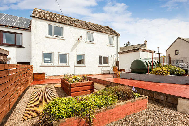 3 Bedrooms Semi Detached House for sale in Mercury Terrace, St. Cyrus, Montrose, DD10