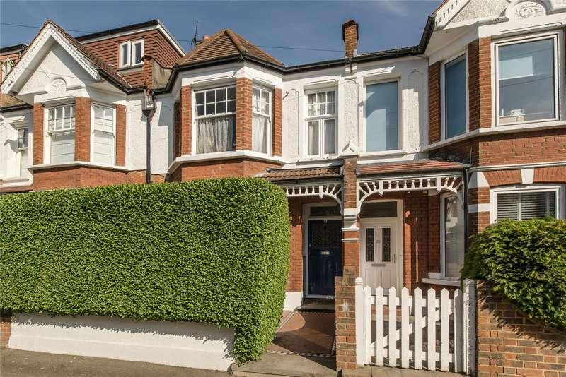 4 Bedrooms Terraced House for sale in Stuart Road, Southfields, London, SW19