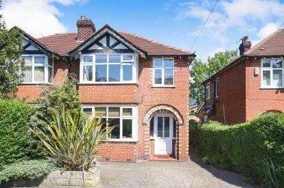 3 Bedrooms Semi Detached House for sale in Moss Lane, Alderley Edge, Cheshire, Uk