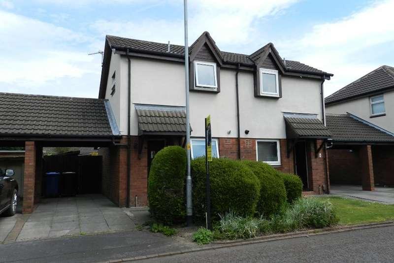 1 Bedroom Semi Detached House for sale in Carrington Close, Locking Stumps, Birchwood, Warrington, WA3 7QA