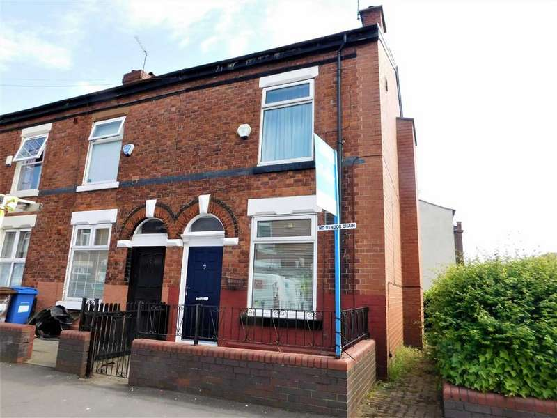 2 Bedrooms End Of Terrace House for sale in Old Chapel Street, Edgeley, Stockport