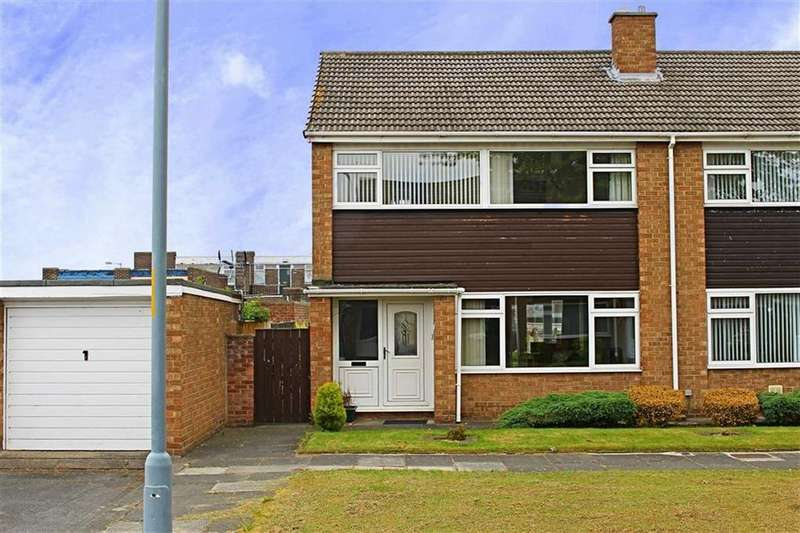 3 Bedrooms Semi Detached House for sale in Boltby Close, Acklam
