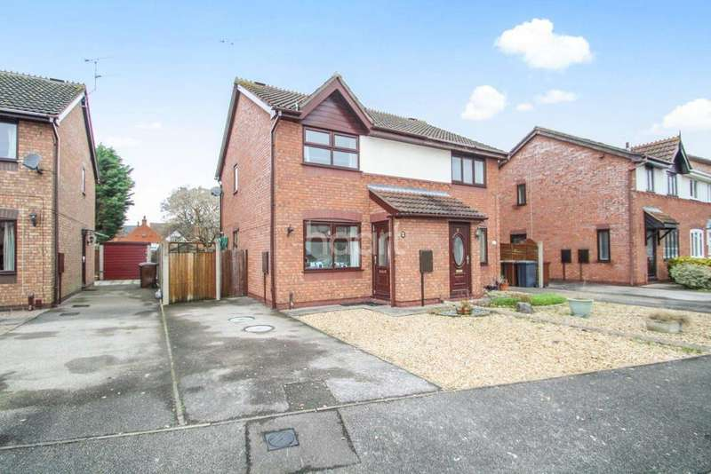 2 Bedrooms Semi Detached House for sale in Earls Drive, Lincoln
