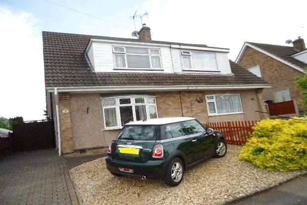 3 Bedrooms Semi Detached House for sale in Winslow Drive, Wigston, Leicester, LE18