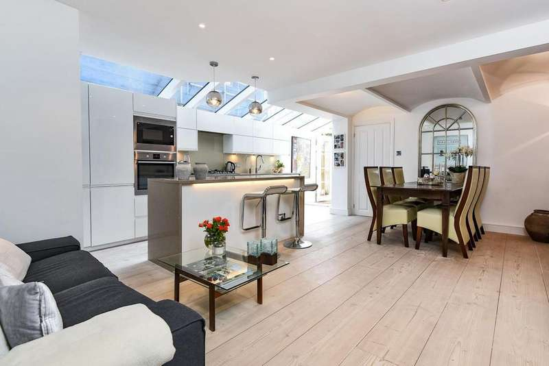 2 Bedrooms Flat for sale in Cubitt Terrace, Clapham