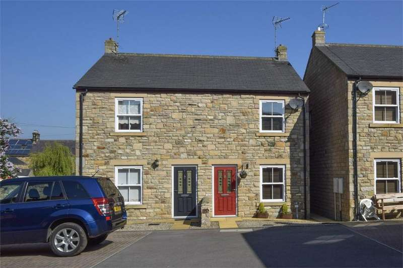 2 Bedrooms Semi Detached House for sale in 2 Chapel View, Barnard Castle, Durham
