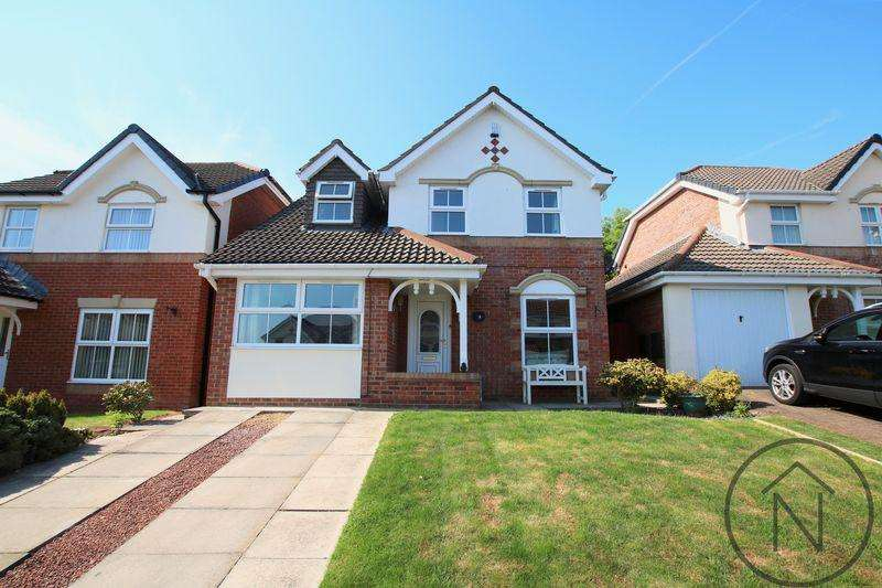3 Bedrooms Detached House for sale in Kempton Close, Newton Aycliffe