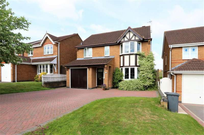 4 Bedrooms Property for sale in Highgate, Ashby-De-La-Zouch, LE65 2SG