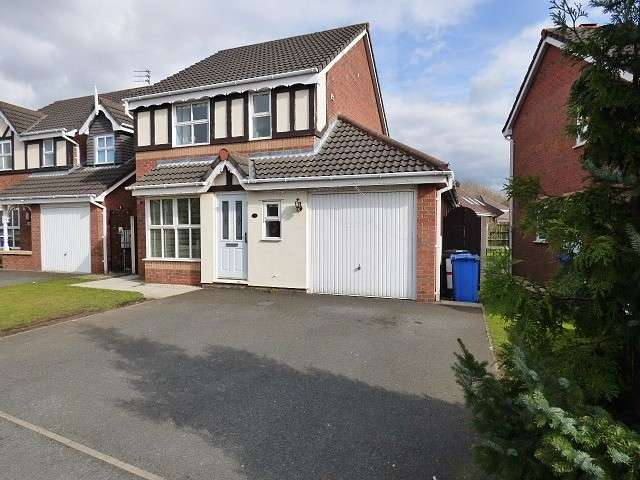 3 Bedrooms Detached House for sale in California Close, Great Sankey, Warrington
