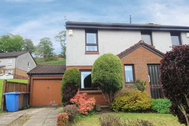2 Bedrooms Semi Detached House for sale in Woodcroft Avenue, Largs, Ayrshire, KA30 9EW