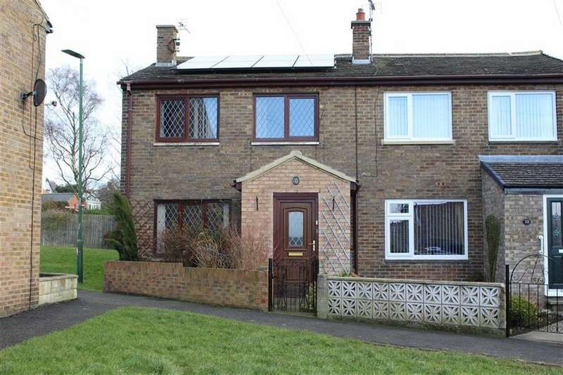 3 Bedrooms Semi Detached House for sale in Churchill Road, Barnard Castle, County Durham