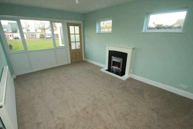 2 Bedrooms Semi Detached Bungalow for sale in Walnut Way, Countesthorpe