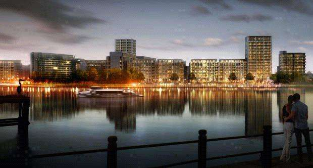 2 Bedrooms Apartment Flat for sale in Portland House, Royal Wharf, North Woolwich Road, London, E16