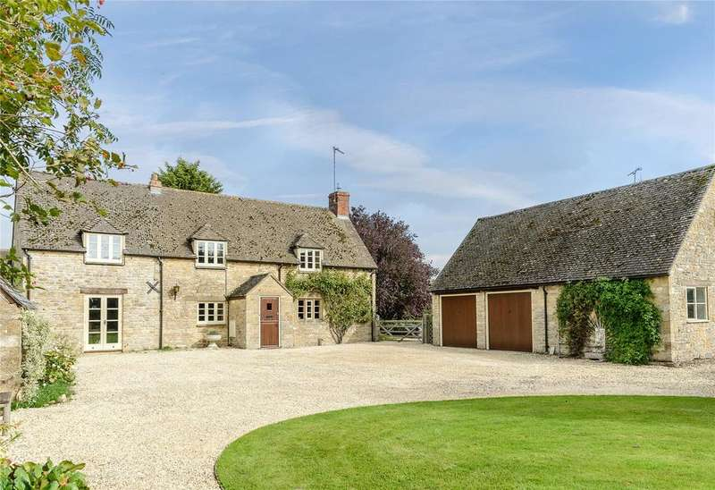 3 Bedrooms Detached House for sale in Foscot, Chipping Norton, Oxfordshire