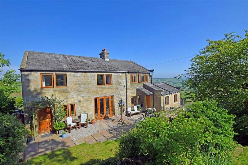 4 Bedrooms Detached House for sale in Hard Nese Lane, Oxenhope BD22