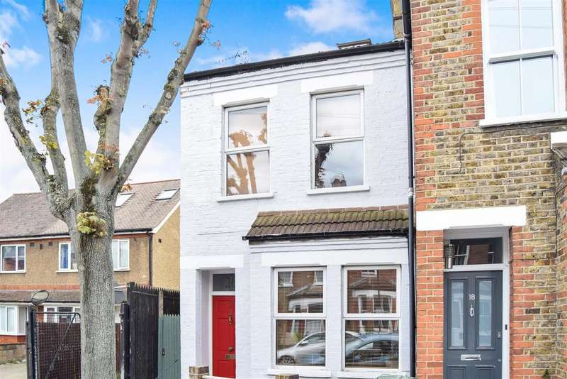 3 Bedrooms End Of Terrace House for sale in Caxton Road, London