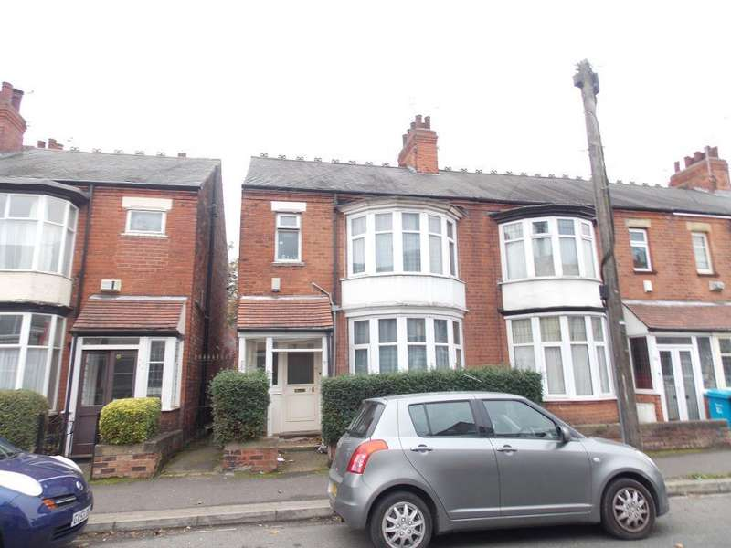 4 Bedrooms End Of Terrace House for sale in Wellesley Avenue, Kingston Upon Hull, HU6 7LW