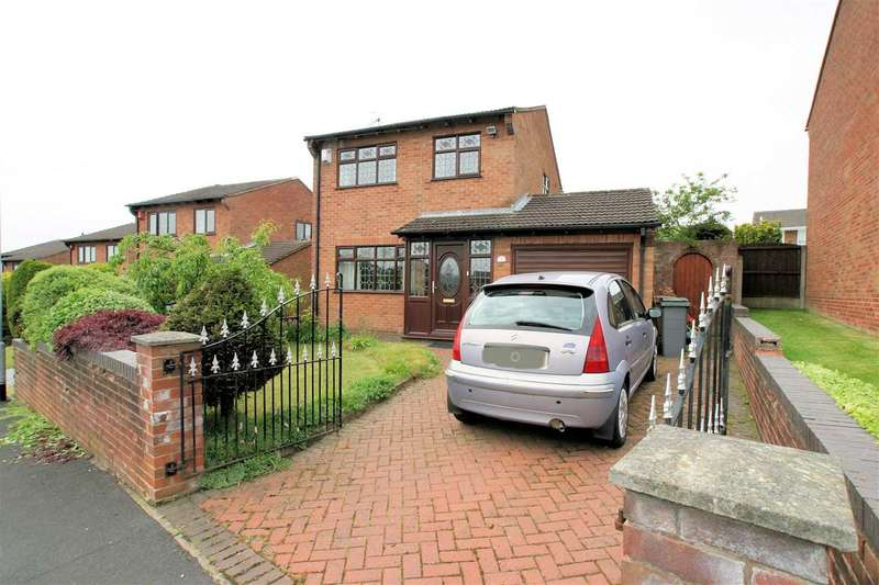 4 Bedrooms Detached House for sale in Widecombe Road, Birches Head, Stoke on Trent