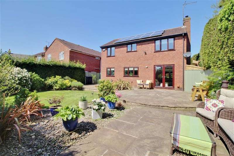 4 Bedrooms Detached House for sale in Bury Bar, Newent, Gloucestershire