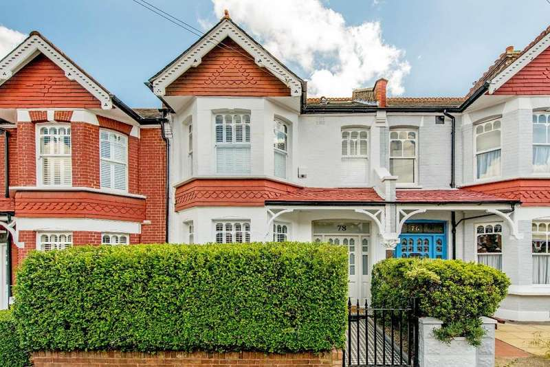 4 Bedrooms Terraced House for sale in Melrose Avenue, Wimbledon