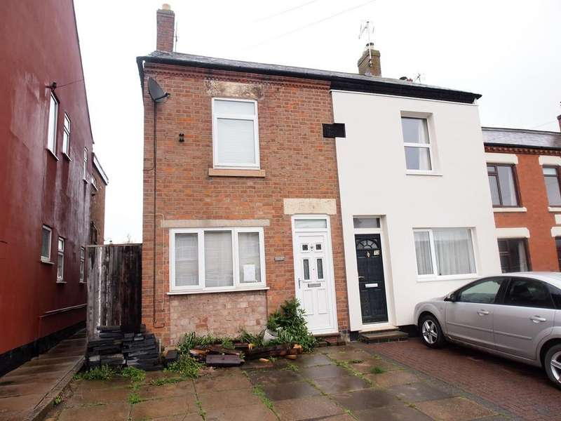 2 Bedrooms Semi Detached House for sale in Kilby Road, Fleckney, Leicester, LE8