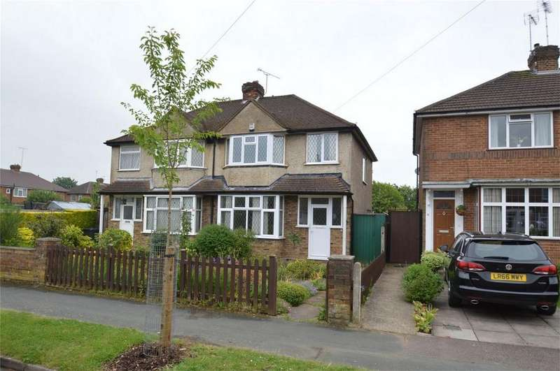 3 Bedrooms Semi Detached House for sale in Chelwood Avenue, HATFIELD, Hertfordshire