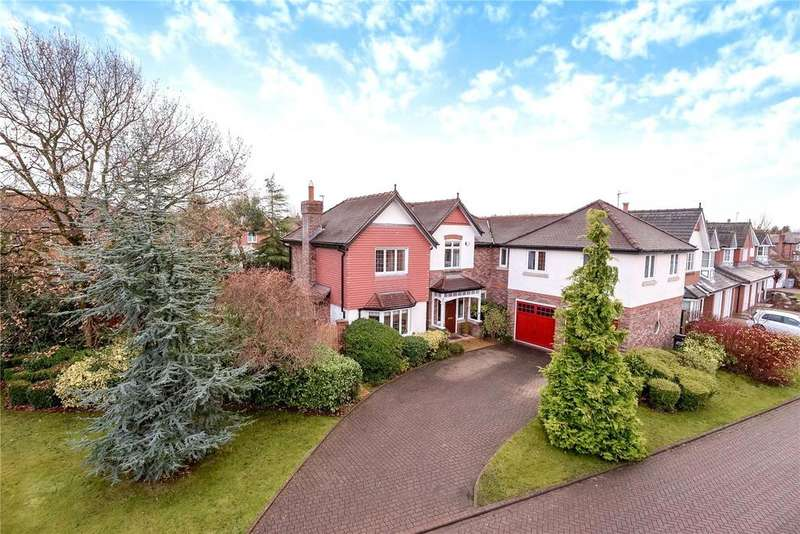 5 Bedrooms Detached House for sale in Westbourne Drive, Wilmslow, Cheshire, SK9