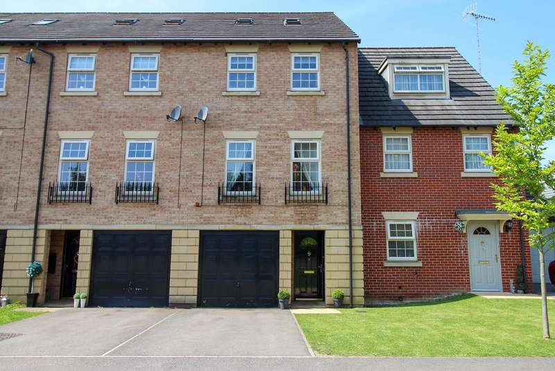 4 Bedrooms Town House for sale in Stanier Court, Hasland