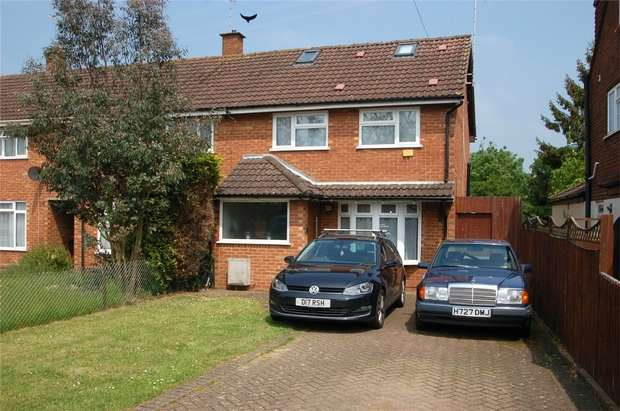 3 Bedrooms End Of Terrace House for sale in Thirlmere Drive, St Albans, Hertfordshire