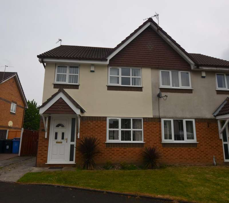 3 Bedrooms Semi Detached House for sale in Warslow Drve, Sale, Cheshire, M33