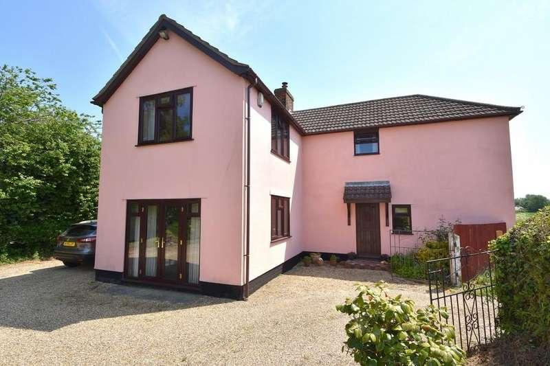 4 Bedrooms Detached House for sale in Main Road, Chelmondiston, Ipswich, IP9 1DP