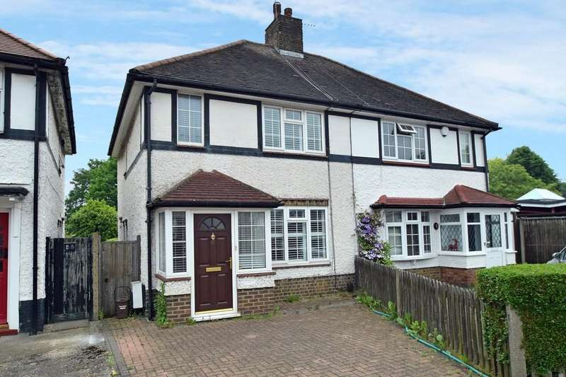 2 Bedrooms Semi Detached House for sale in Dickens Avenue, Finchley Central, N3