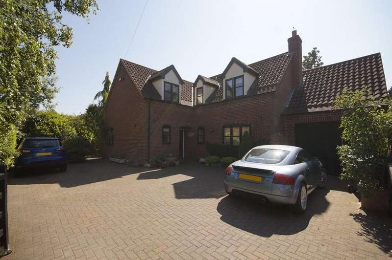 5 Bedrooms Detached House for sale in Main Road, Laughterton, Lincoln