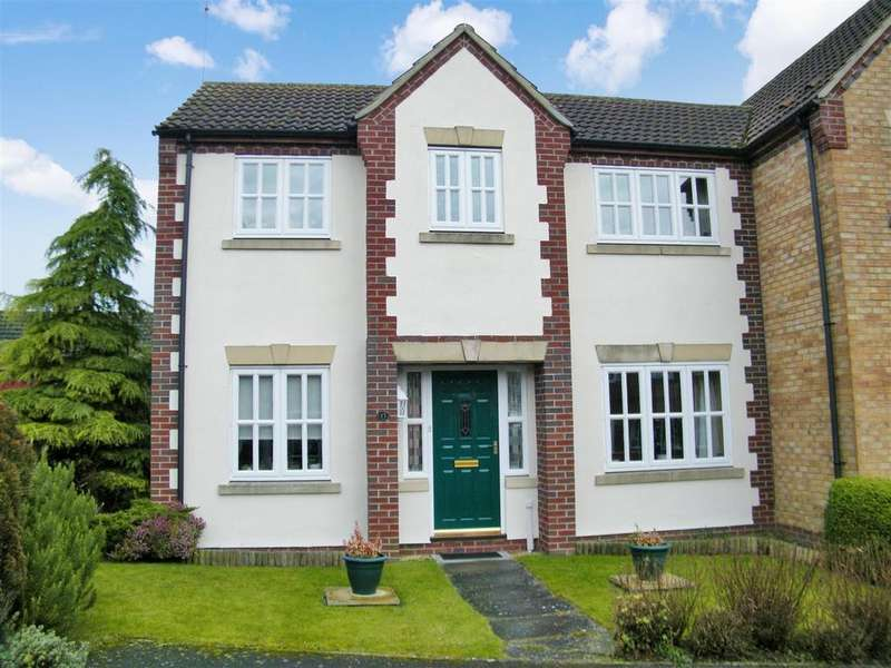 3 Bedrooms Semi Detached House for sale in Hall Close, Ropsley, Grantham