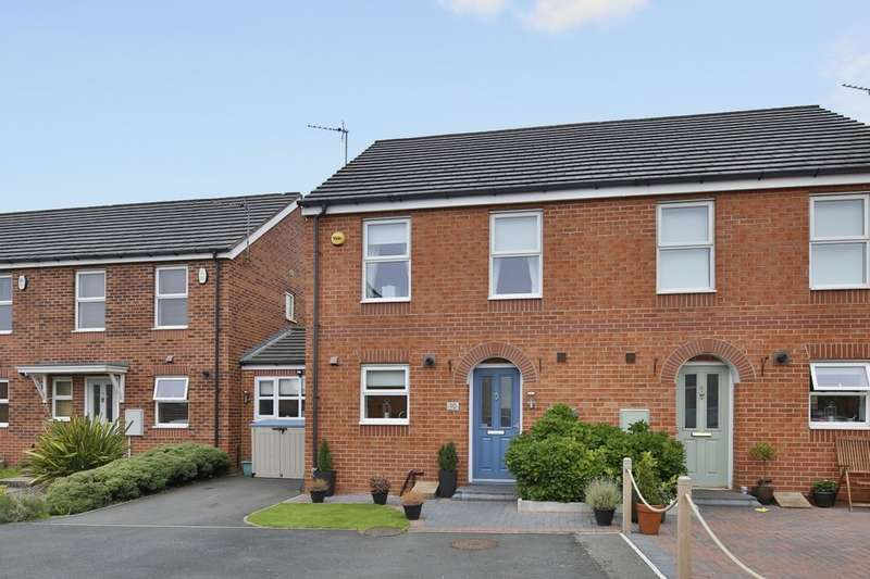 3 Bedrooms Semi Detached House for sale in Griffiths Court, Bowburn, Durham, DH6