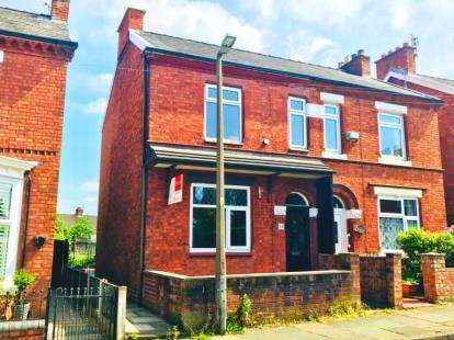 3 Bedrooms Semi Detached House for sale in St. Georges Road, Winsford, Cheshire