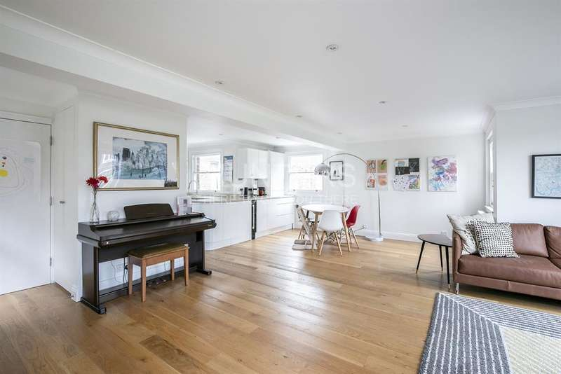 3 Bedrooms Apartment Flat for sale in Crediton Hill, London , NW6
