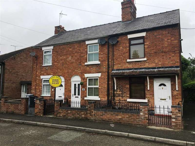 2 Bedrooms Terraced House for sale in Wallfields Road, Nantwich, Cheshire
