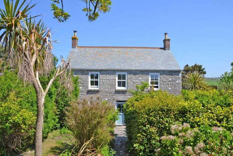 4 Bedrooms Detached House for sale in Kelynack, Cot Valley, St Just, Nr. Penzance, West Cornwall, TR19