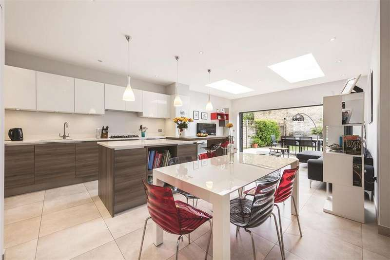 4 Bedrooms Terraced House for sale in Brookwood Road, SW18