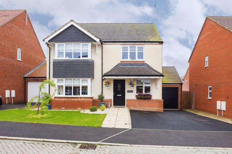 4 Bedrooms Detached House for sale in Harris Close, Newton Leys