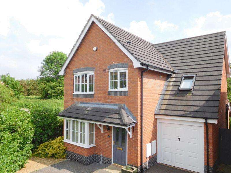 4 Bedrooms Detached House for sale in Garnett Close, Stapeley, Nantwich