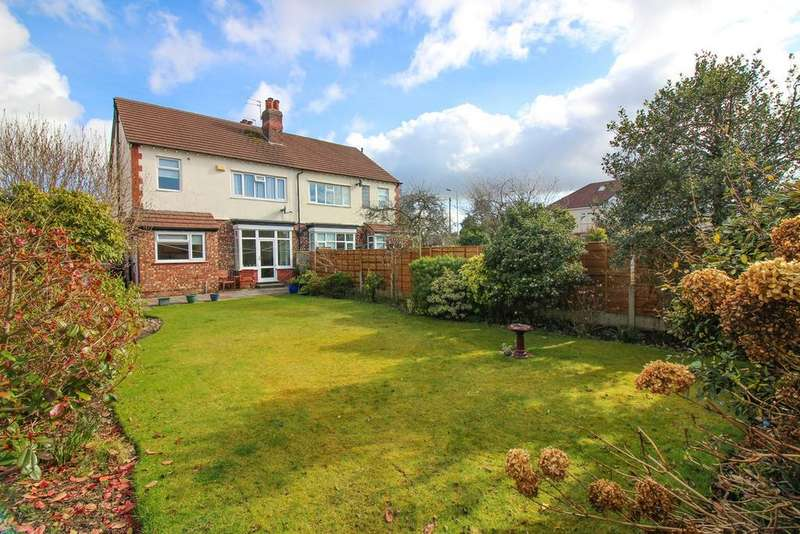 3 Bedrooms Semi Detached House for sale in Marple Road, Offerton, Stockport, SK2
