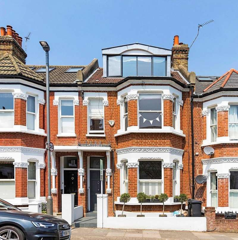 6 Bedrooms Terraced House for sale in Kelmscott Road, SW11