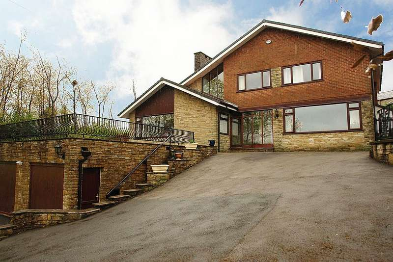 4 Bedrooms Detached House for sale in Shaw Road, Milnrow, Rochdale