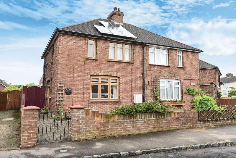 3 Bedrooms Semi Detached House for sale in Bell Close, Westoning, MK45