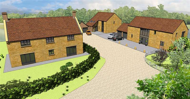 4 Bedrooms Detached House for sale in Lower Dairy, Wood Close Lane, Allowenshay, Hinton St George, Som, TA17